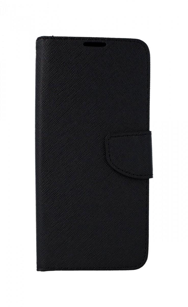 Pouzdro TopQ Huawei Y6p knížkové černé 54147 (kryt neboli obal na mobil Huawei Y6p)