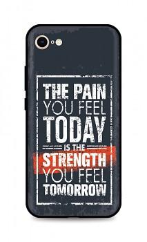 Zadní silikonový kryt DARK na iPhone SE 2020 Strength