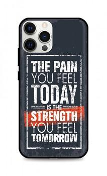 Zadní silikonový kryt DARK na iPhone 12 Pro Max Strength