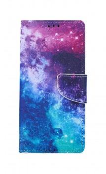 Knížkové pouzdro na Samsung A41 Vesmír