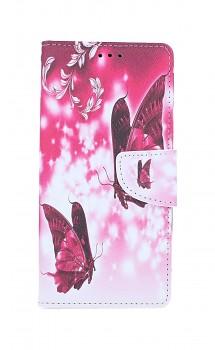 Knížkové pouzdro na Samsung A51 Zamilovaní motýlci