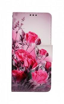 Knížkové pouzdro na Xiaomi Redmi Note 9 Romantické růže