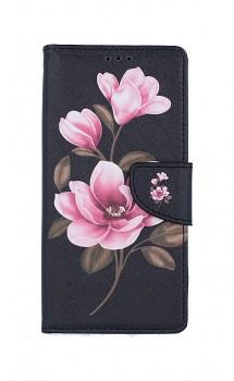 Knížkové pouzdro na Xiaomi Redmi Note 9 Tři květy