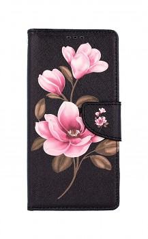 Knížkové pouzdro na Xiaomi Redmi Note 9 Pro Tři květy
