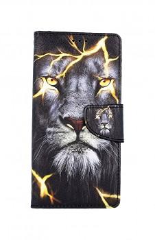 Knížkové pouzdro na Xiaomi Redmi Note 9 Pro Magický lev