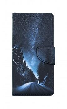 Knížkové pouzdro na iPhone SE 2020 Zimní cesta