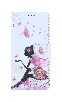 Knížkové pouzdro na iPhone SE 2020 Zasněná dívka