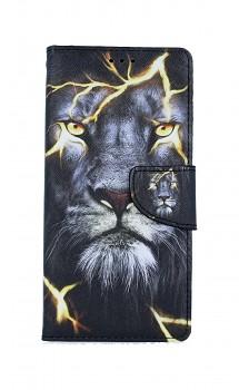 Knížkové pouzdro na iPhone SE 2020 Magický lev