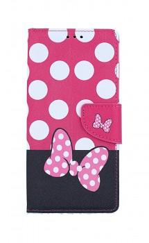 Knížkové pouzdro na iPhone SE 2020 Minnie Mouse