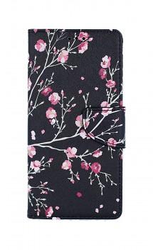 Knížkové pouzdro na iPhone SE 2020 Noční květy