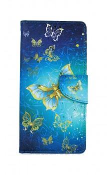 Knížkové pouzdro na iPhone SE 2020 Obloha s motýlky