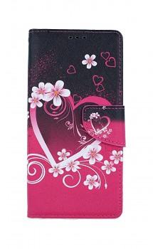 Knížkové pouzdro na iPhone SE 2020 Romantika