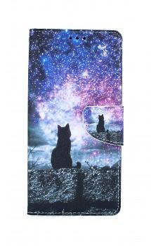 Knížkové pouzdro na iPhone SE 2020 Hvězdná obloha