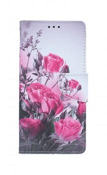 Knížkové pouzdro na Xiaomi Redmi Note 8T Romantické růže