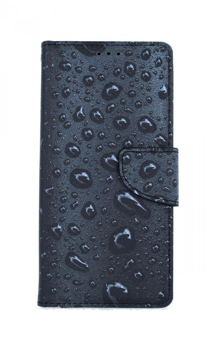 Pouzdro TopQ Xiaomi Redmi Note 8T knížkové Kapky 54721 (kryt neboli obal na mobil Xiaomi Redmi Note 8T)