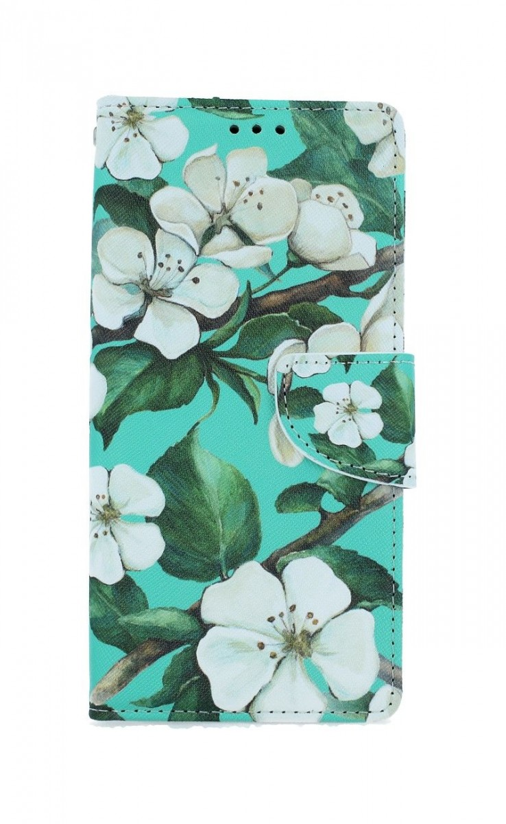 Knížkové pouzdro na Xiaomi Redmi Note 8T Malované květy