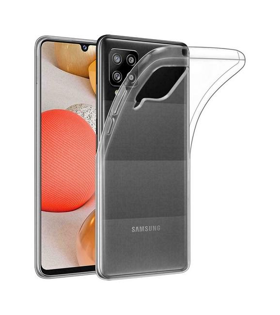 Ultratenký silikonový kryt na Samsung A42 0,5 mm průhledný