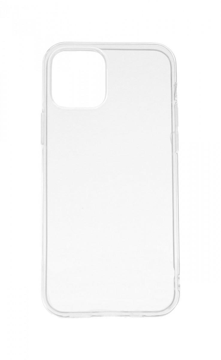 Ultratenký silikonový kryt na iPhone 12 Pro Max 0,5 mm průhledný