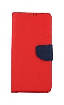 Knížkové pouzdro na Samsung A42 červené