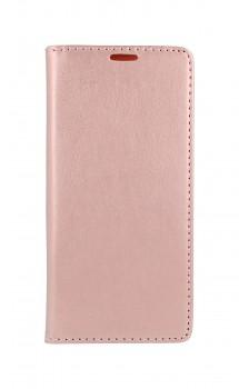 Knížkové pouzdro Magnet Book na Samsung A42 světle růžové
