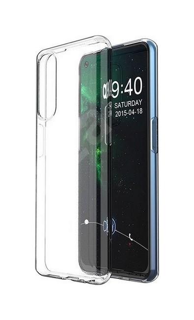 Zadní silikonový kryt na Realme 7 1 mm průhledný