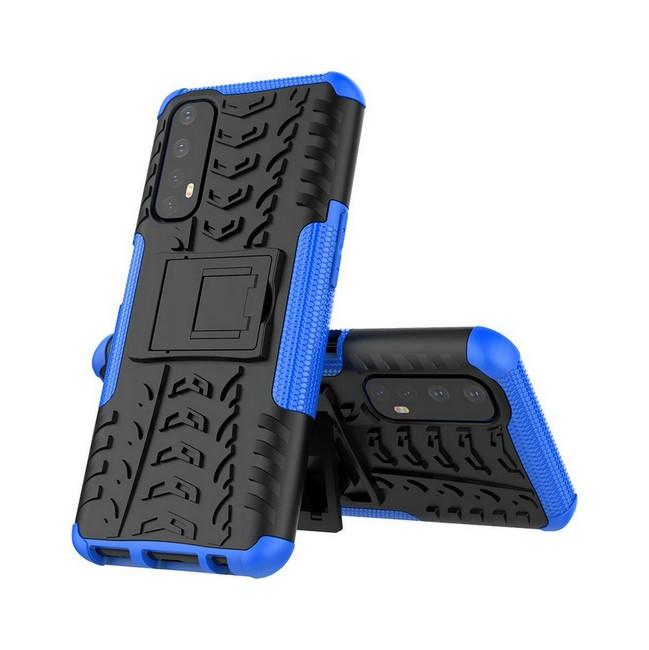 Ultra odolný zadní kryt na Realme 7 modrý