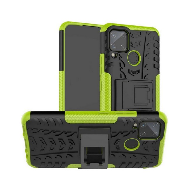 Ultra odolný zadní kryt na Realme 7i zelený