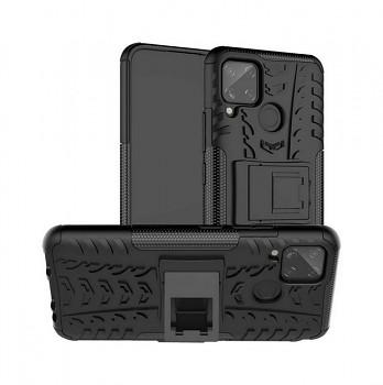 Ultra odolný zadní kryt na Realme C11 černý