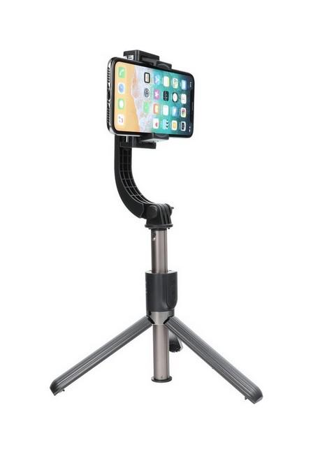 Selfie tyč TopQ se stabilizátorem Gimbal SSTR-L08 černá 54933