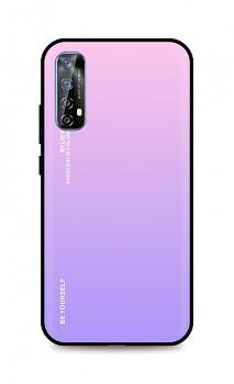 Zadní pevný kryt LUXURY na Realme 7 duhový růžový