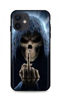 Zadní silikonový kryt DARK na iPhone 12 Fuck Off