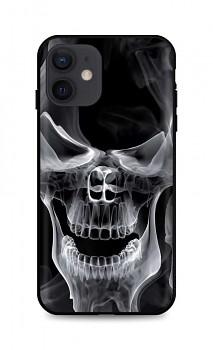 Zadní silikonový kryt DARK na iPhone 12 Deadly Smoke