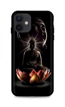 Zadní silikonový kryt DARK na iPhone 12 Meditation