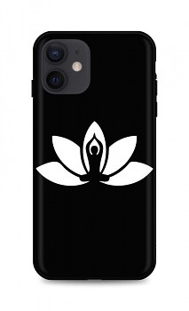 Zadní silikonový kryt DARK na iPhone 12 Yoga