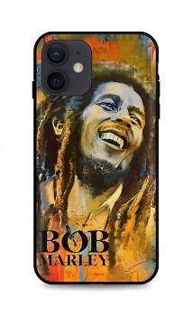 Zadní silikonový kryt DARK na iPhone 12 Bob Marley