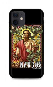 Zadní silikonový kryt DARK na iPhone 12 Narcos