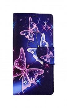 Knížkové pouzdro na Realme 7 Modré s motýlky