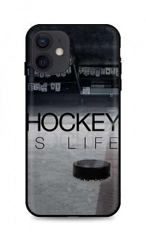 Zadní silikonový kryt DARK na iPhone 12 Hockey Is Life
