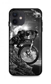 Zadní silikonový kryt DARK na iPhone 12 Mountain Rider