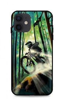 Zadní silikonový kryt DARK na iPhone 12 Mountain Bike