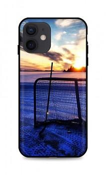 Zadní silikonový kryt DARK na iPhone 12 Hockey Sunset