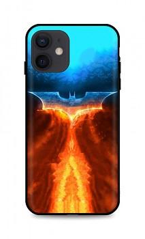 Zadní silikonový kryt DARK na iPhone 12 Fiery Batman