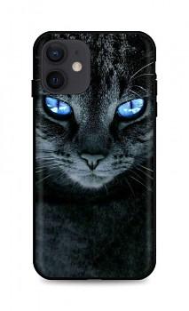 Zadní silikonový kryt DARK na iPhone 12 Dark Cat