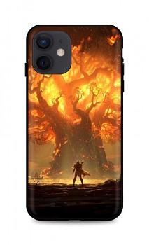 Zadní silikonový kryt DARK na iPhone 12 Warcraft