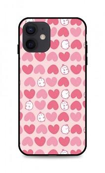 Zadní pevný kryt LUXURY na iPhone 12 Sweet Bunny