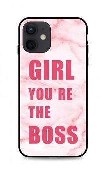Zadní pevný kryt LUXURY na iPhone 12 Girl Boss