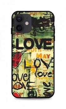 Zadní pevný kryt LUXURY na iPhone 12 Love