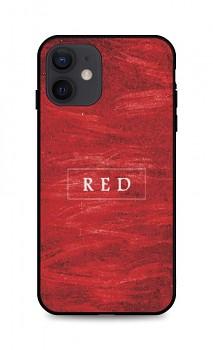 Zadní pevný kryt LUXURY na iPhone 12 Red