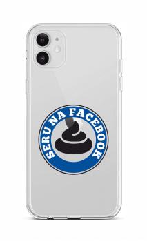 Zadní silikonový kryt na iPhone 12 Facebook