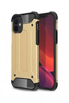 Zadní kryt na iPhone 12 Panzer zlatý